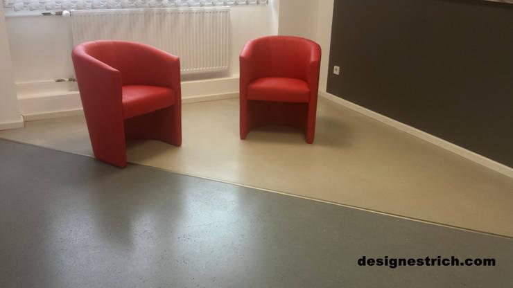 geschliffener Designestrich / Sichtestrich:  Wände & Boden von eptbaugmbh