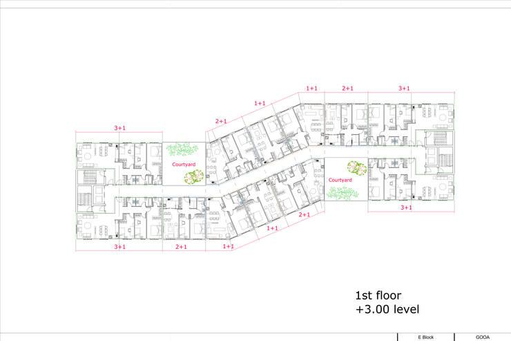 GOOA GLOBAL OFFICE OF ARCHITECTURE  – Residential '' Ferikent'': modern tarz Evler