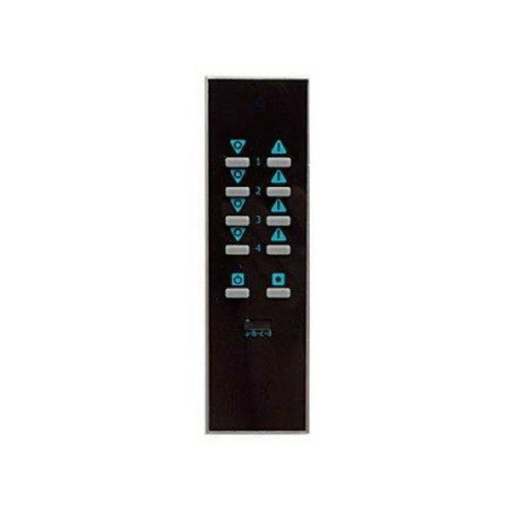 LIGHTWAVERF HANDHELD REMOTE (BLACK):  Multimedia room by DirectTradeSupplies