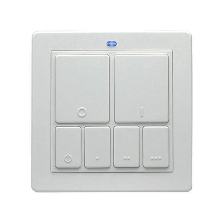 LIGHTWAVERF MOOD LIGHTING CONTROLLER (WHITE):  Multimedia room by DirectTradeSupplies