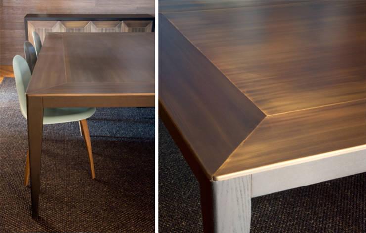 Detalles mobiliario: Salones de estilo  de DyD Interiorismo - Chelo Alcañíz