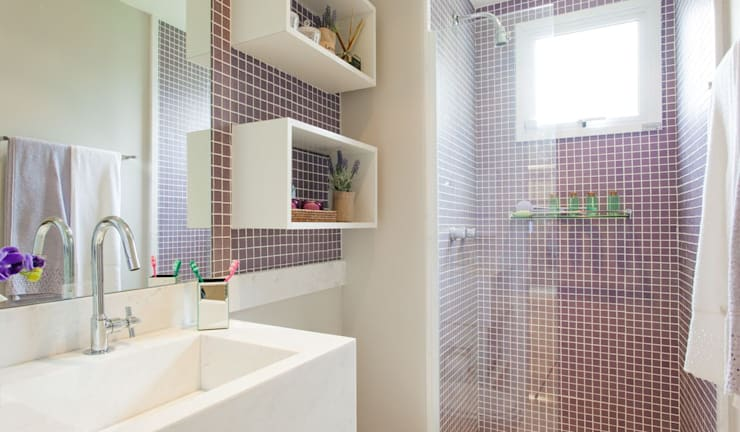 Modern bathroom by SESSO & DALANEZI Modern