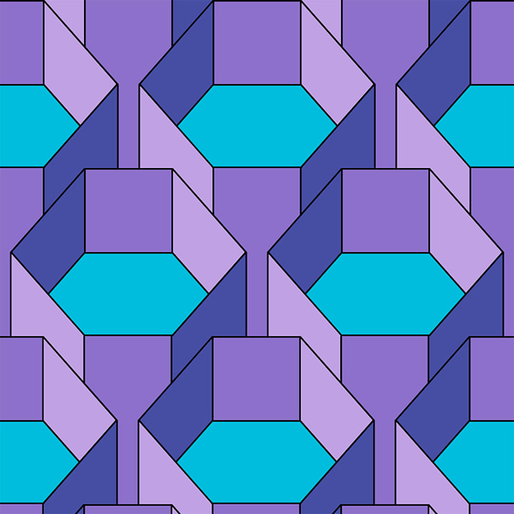 Hexa-Gone 1 wallpaper:  Walls & flooring by quirk and rescue