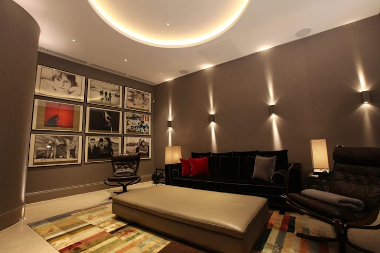 U2 Can Have a Home Cinema Like This:  Media room by Finite Solutions