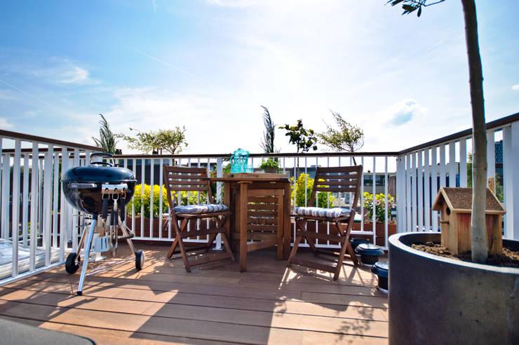 Balconies, verandas & terraces  by Renoparts Vianen B.V. | Uw Dakterras Specialist