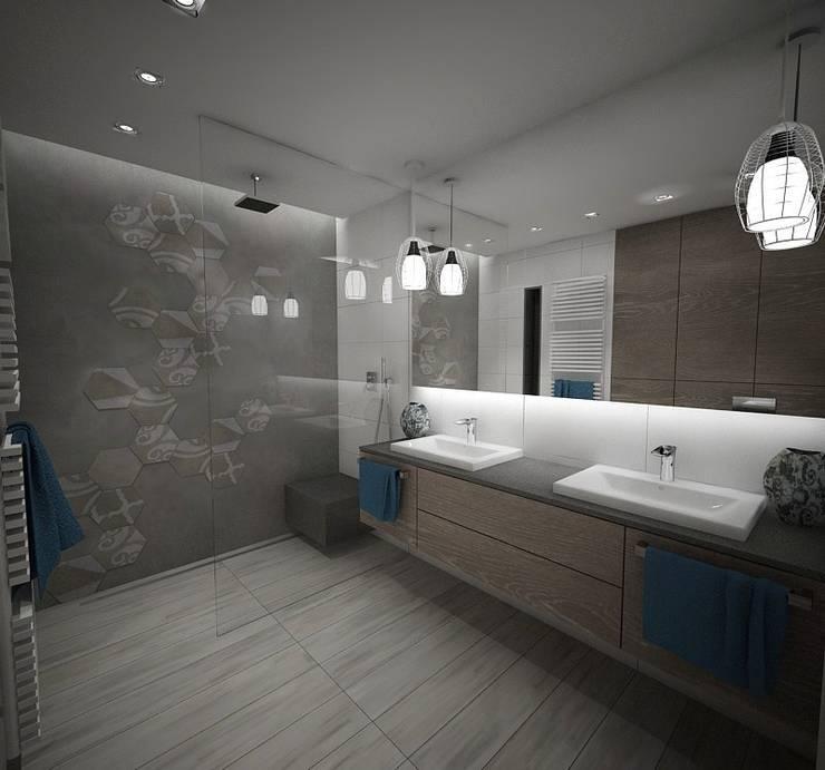 Łazienka : styl , w kategorii Łazienka zaprojektowany przez living box