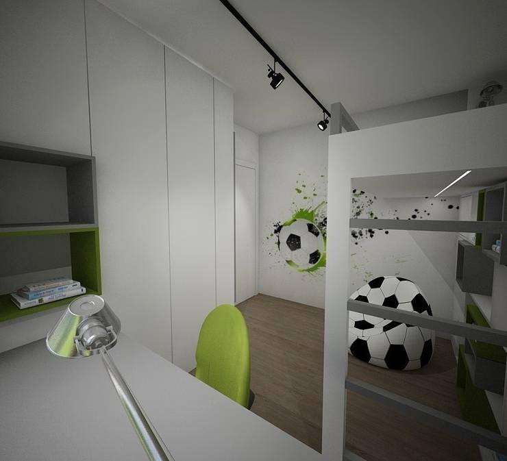 Pokój dziecięcy: styl , w kategorii Pokój dziecięcy zaprojektowany przez living box