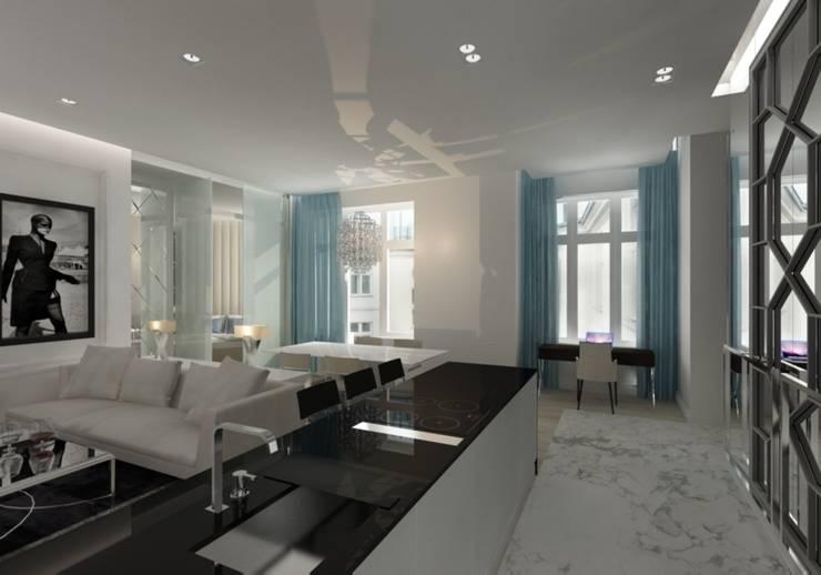 Kuchnia: styl , w kategorii Kuchnia zaprojektowany przez living box
