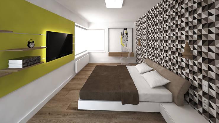 Sypialnia : styl , w kategorii Sypialnia zaprojektowany przez KRY_