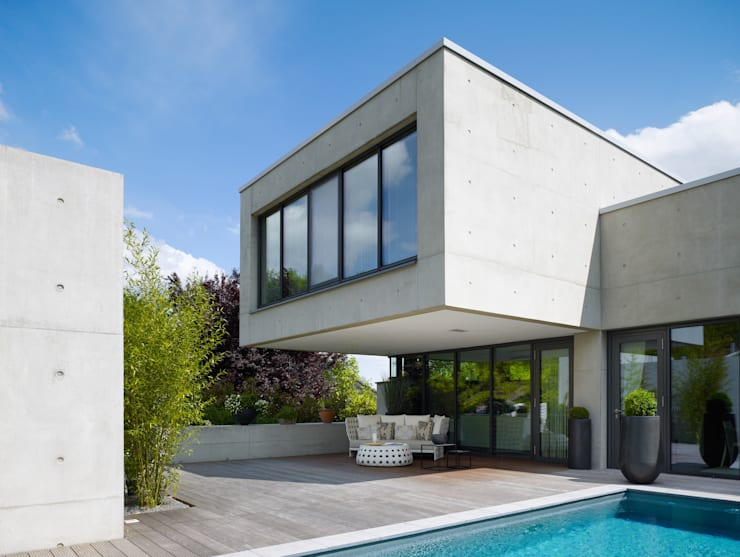 Terrasse de style  par PaulBretz Architectes