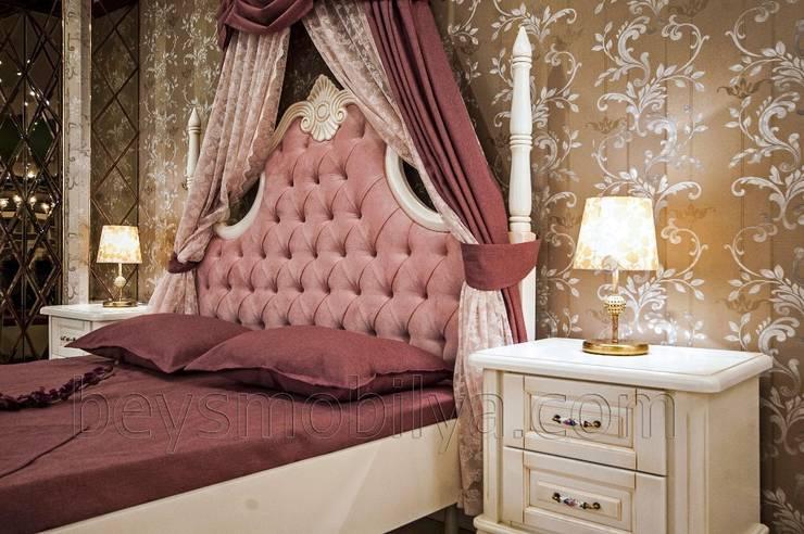 Akabe Mobilya San ve Tic. Ltd. Şti – Sultan Country Yatak Odası Takımı: rustik tarz tarz Yatak Odası