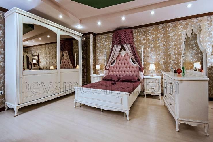 Akabe Mobilya San ve Tic. Ltd. Şti – Sultan Country Yatak Odası Takımı:  tarz Yatak Odası