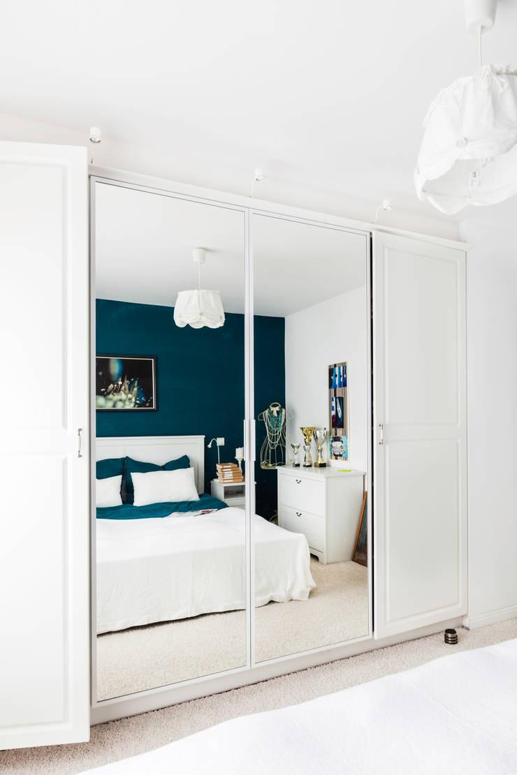 W stylu prowansalskim: styl , w kategorii Sypialnia zaprojektowany przez Decoroom,