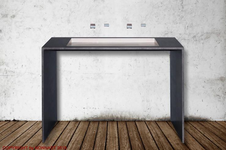 Beton Design By NONNAST が手掛けた洗面所&風呂&トイレ
