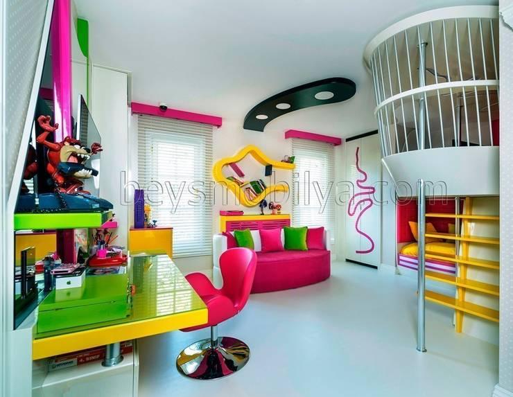 غرفة الاطفال تنفيذ Akabe Mobilya San ve Tic. Ltd. Şti