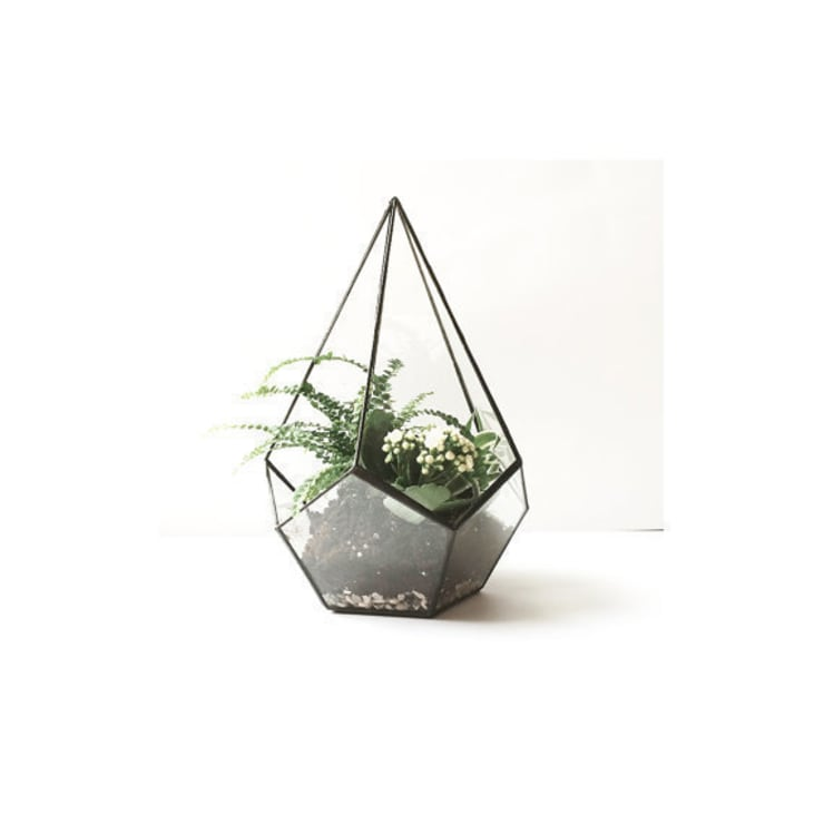 Teadrop terrarium: Casa in stile  di Expat Design Shop