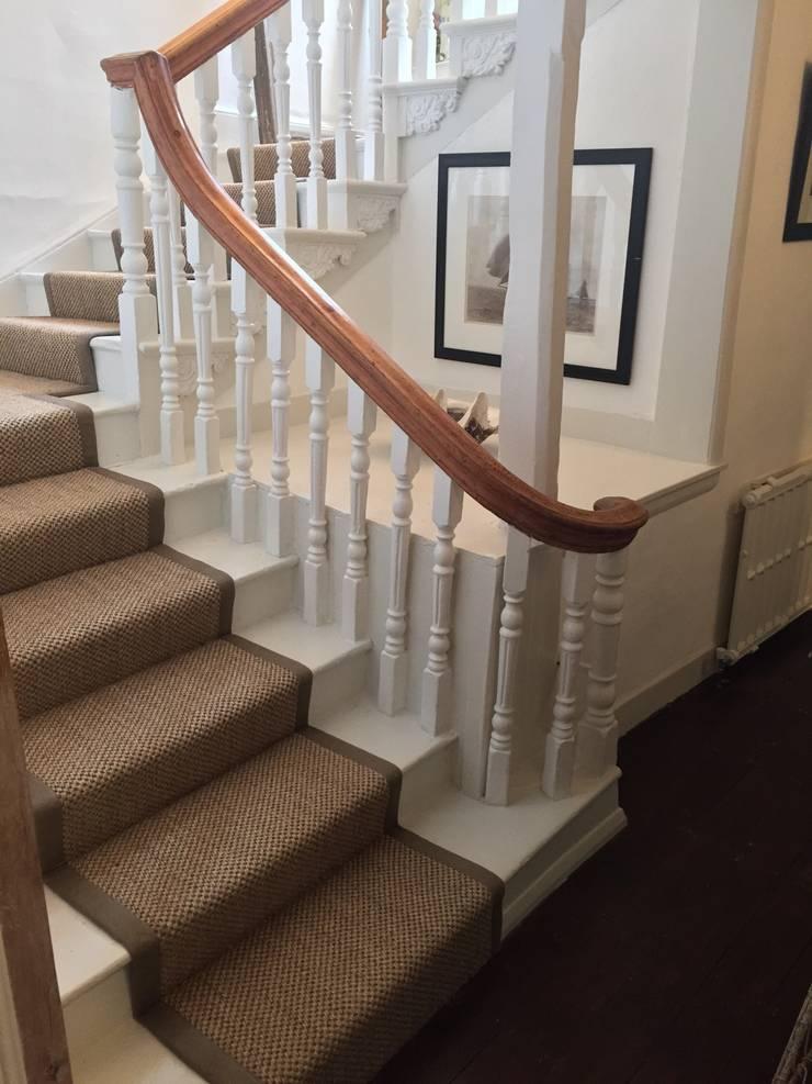 Sisal Babylon Bark:  Corridor & hallway by Sisal & Seagrass