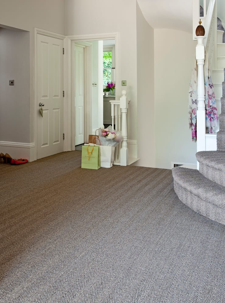 Agra:  Walls & flooring by Sisal & Seagrass