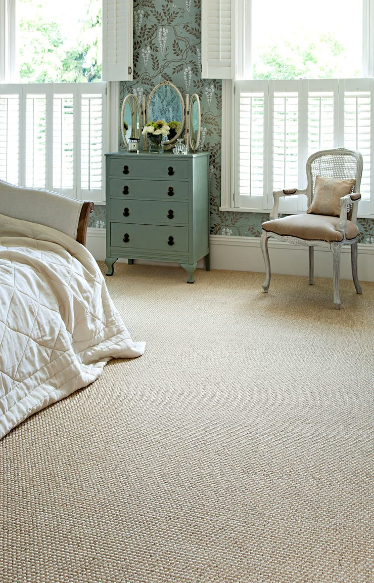 Olympia:  Walls & flooring by Sisal & Seagrass