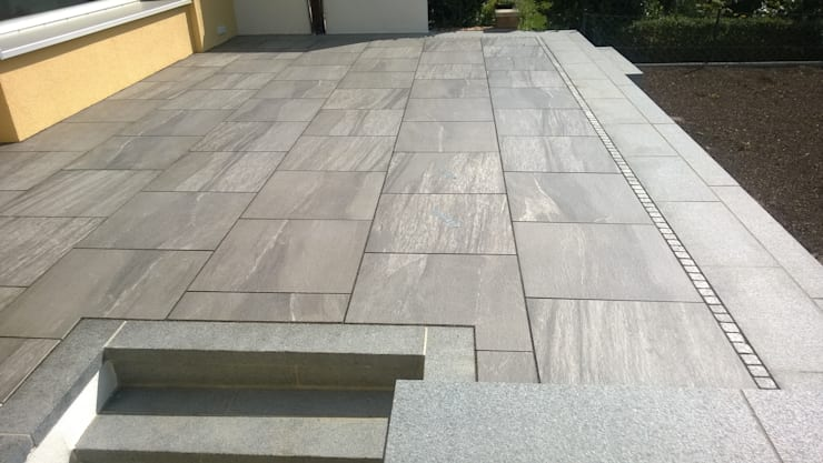 Terrazas  de estilo  por Neues Gartendesign by Wentzel