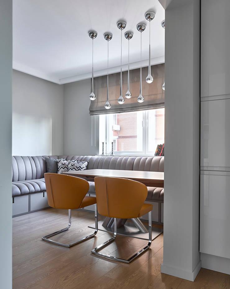 Дизайн квартиры в Москве / ул. 9 Мая: Столовые комнаты в . Автор – Бюро TS Design