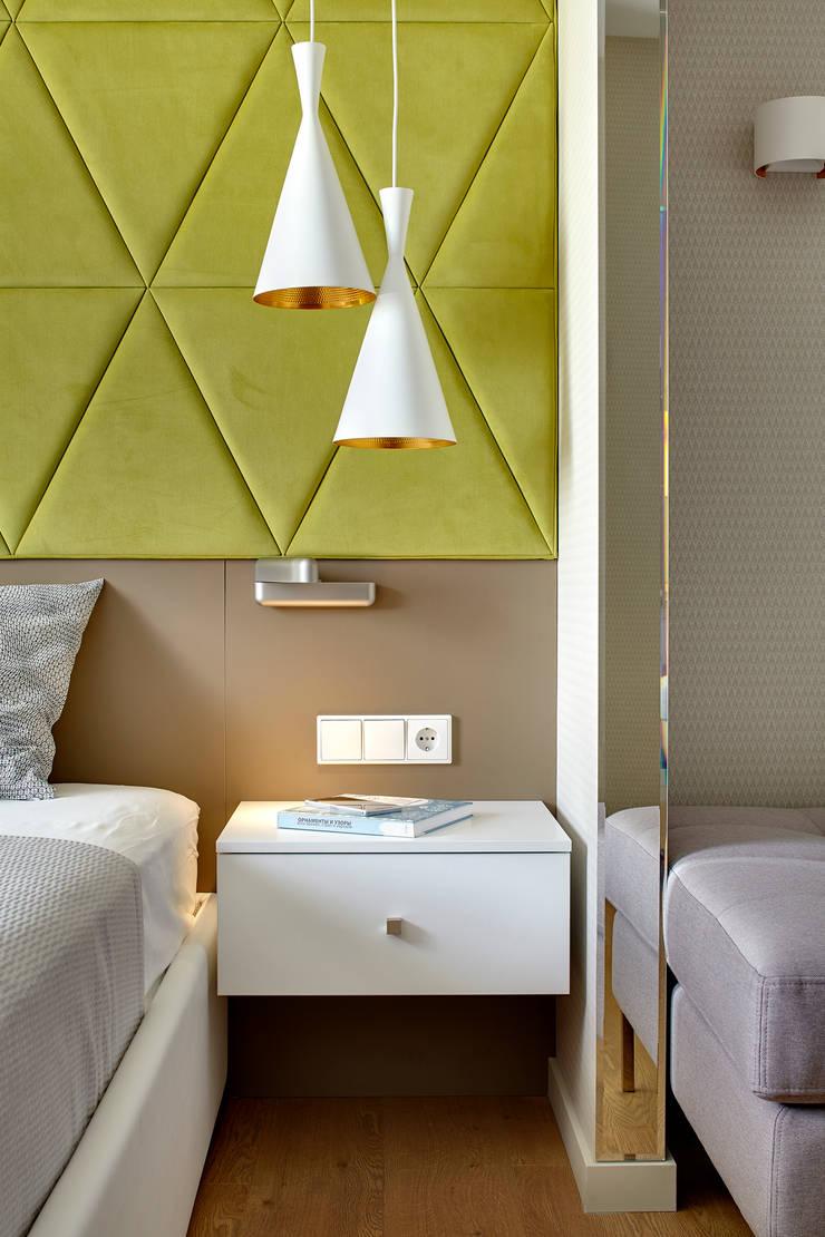 Дизайн квартиры в Москве / ул. 9 Мая: Спальни в . Автор – Бюро TS Design