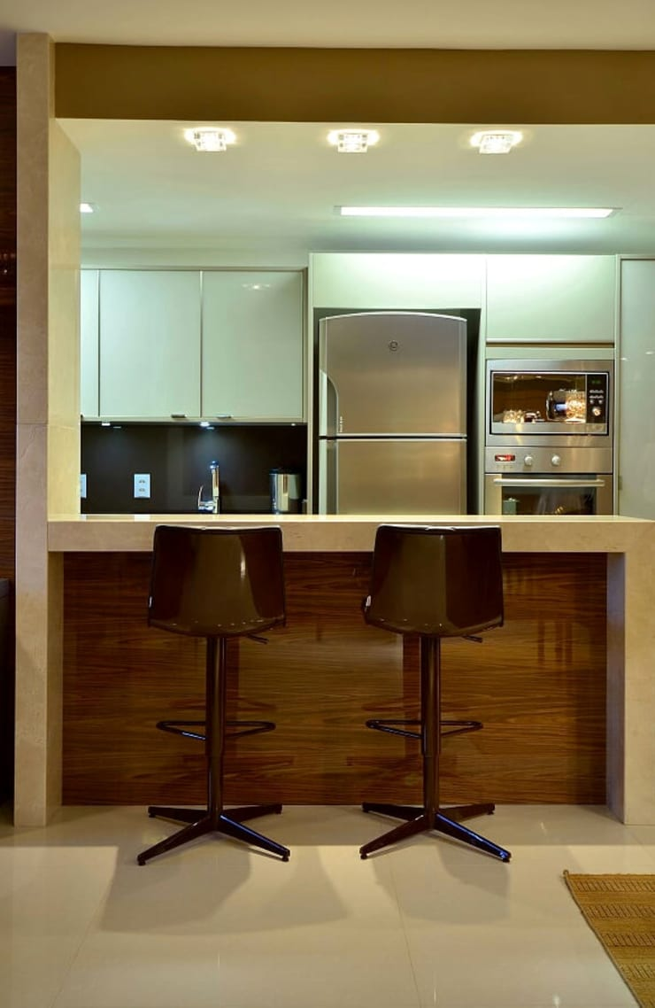 Apartamento Urban:   por Studio Cinque,Moderno