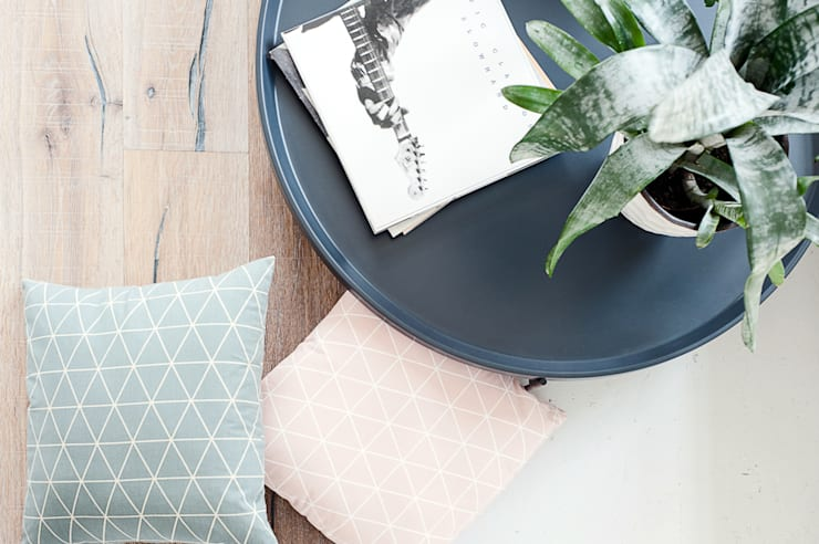 Geometria w pastelowym wydaniu: styl , w kategorii  zaprojektowany przez Lilla Sky ,Skandynawski