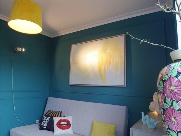 Domowe biuro: styl , w kategorii Domowe biuro i gabinet zaprojektowany przez NaNovo ,