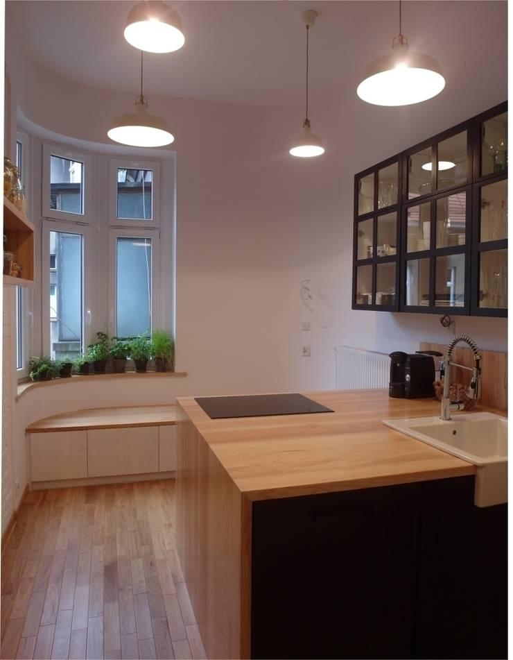 M&P: styl , w kategorii Kuchnia zaprojektowany przez NaNovo ,