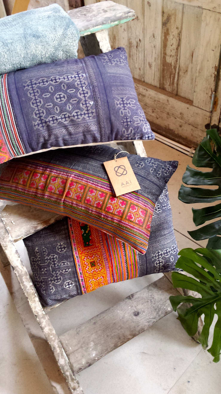 Vietnam Days collectie 15  - AAI made with love:  Woonkamer door AAI made with love