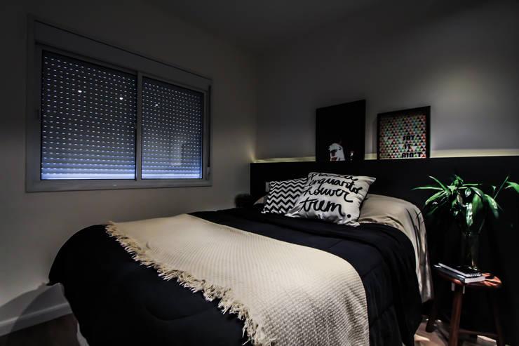 Apartamento Alto do Ipiranga: Quartos  por SP Estudio