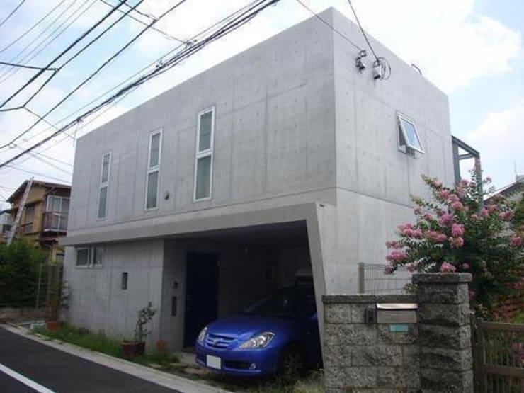 Houses by 三浦尚人建築設計工房, Modern