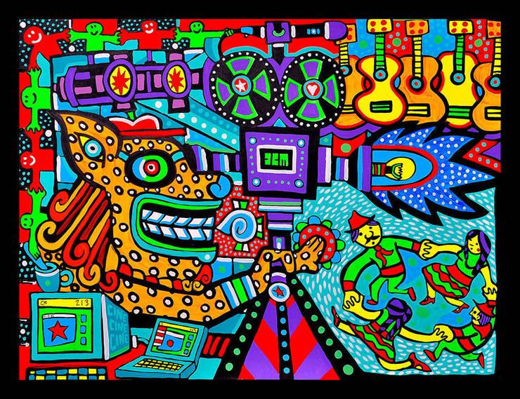 El Festival: Arte de estilo  por Jimmy Carbo
