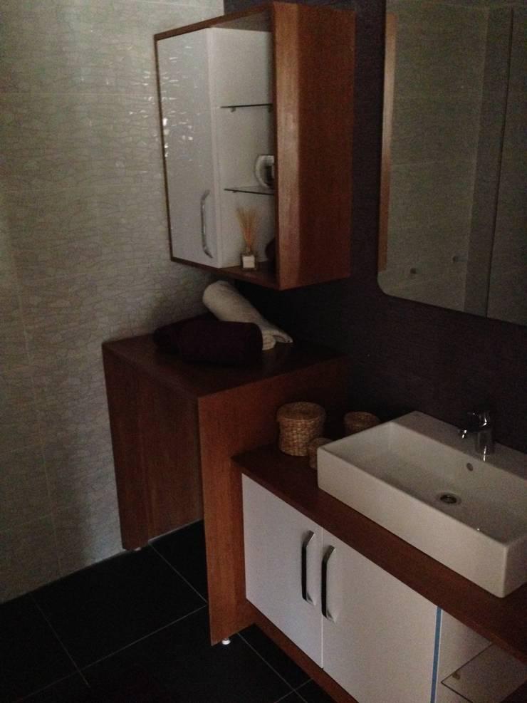 Eşittir Mobilya – Evia Konutları 54 Daire:  tarz Banyo