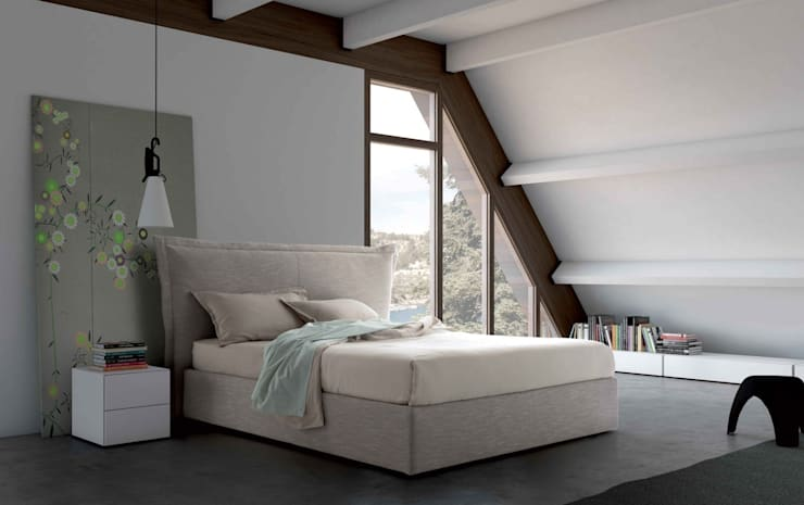 Aladino Tall Bed :  Bedroom by Campbell Watson