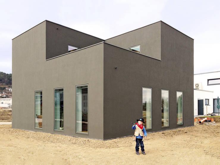 f m b architekten - Norman Binder & Andreas-Thomas Mayer의  주택