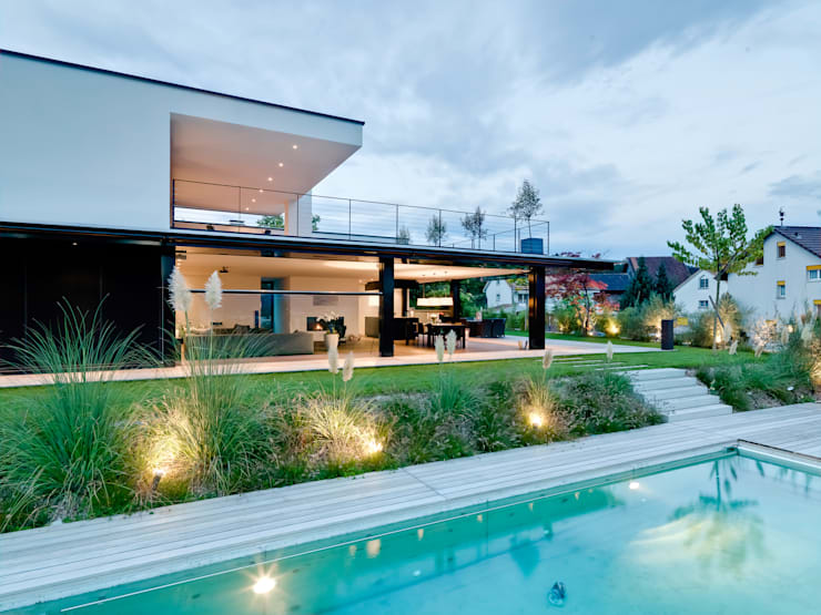 Sonnenhalde, Private Residence:  Houses by Descender Fronts by Kollegger