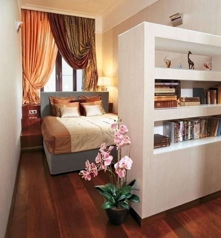 Квартира в историческом центре г. Москвы: Спальни в . Автор – Судникова Вероника, Модерн
