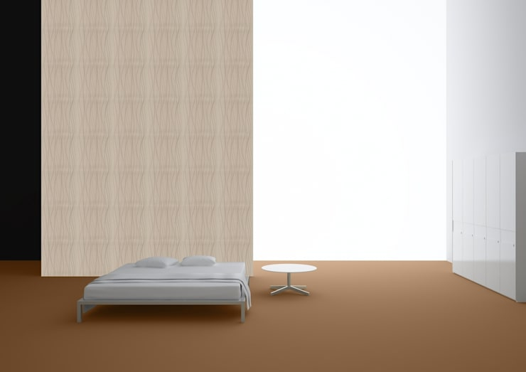 Wall Coverings:  Walls & flooring by Granorte