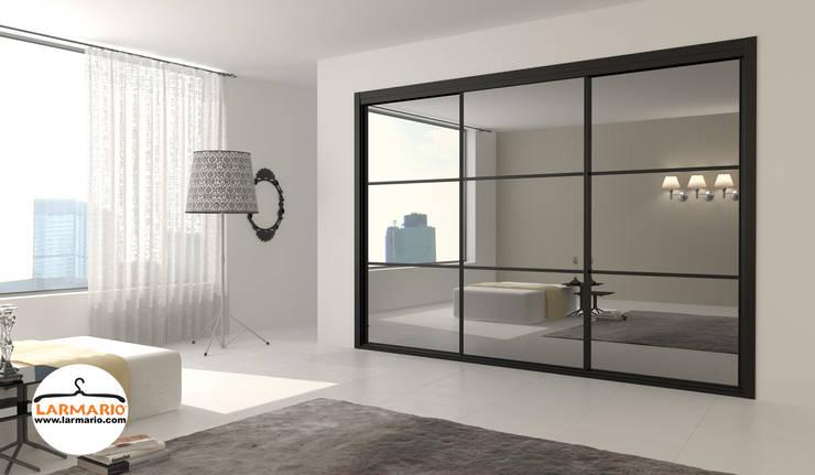 colección design - serieluccacrystal: Dormitorios de estilo  de macarenaromero