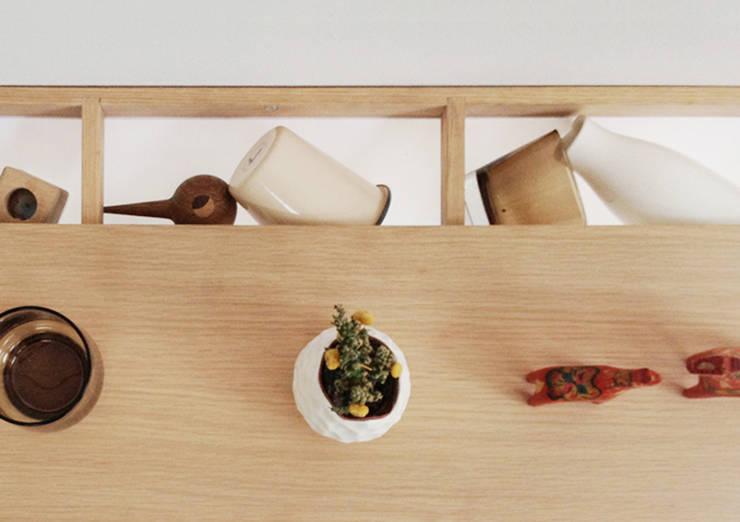 Noma Shelf:  Living room by Zak Stratfold