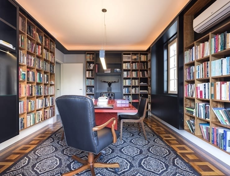 ACT   Biblioteca: Escritórios  por Kali Arquitetura