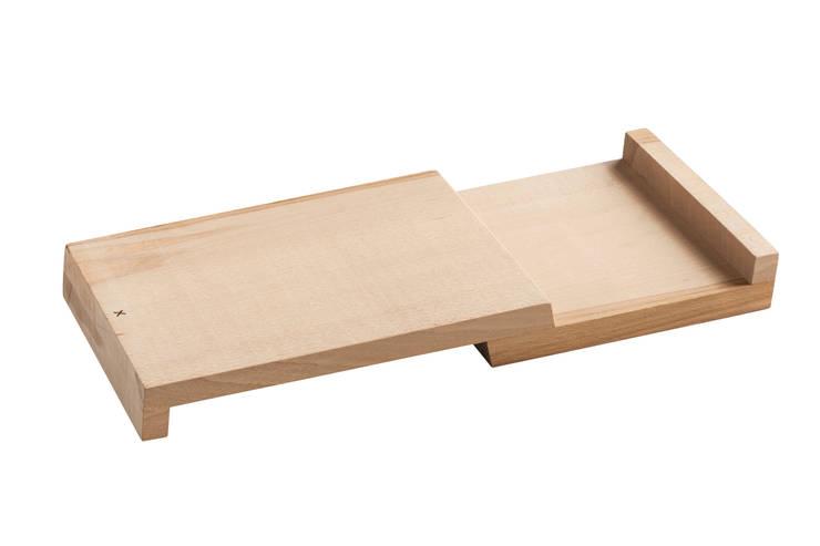 Snijplank, 'Op niveau'. van Design X Ambacht Industrieel