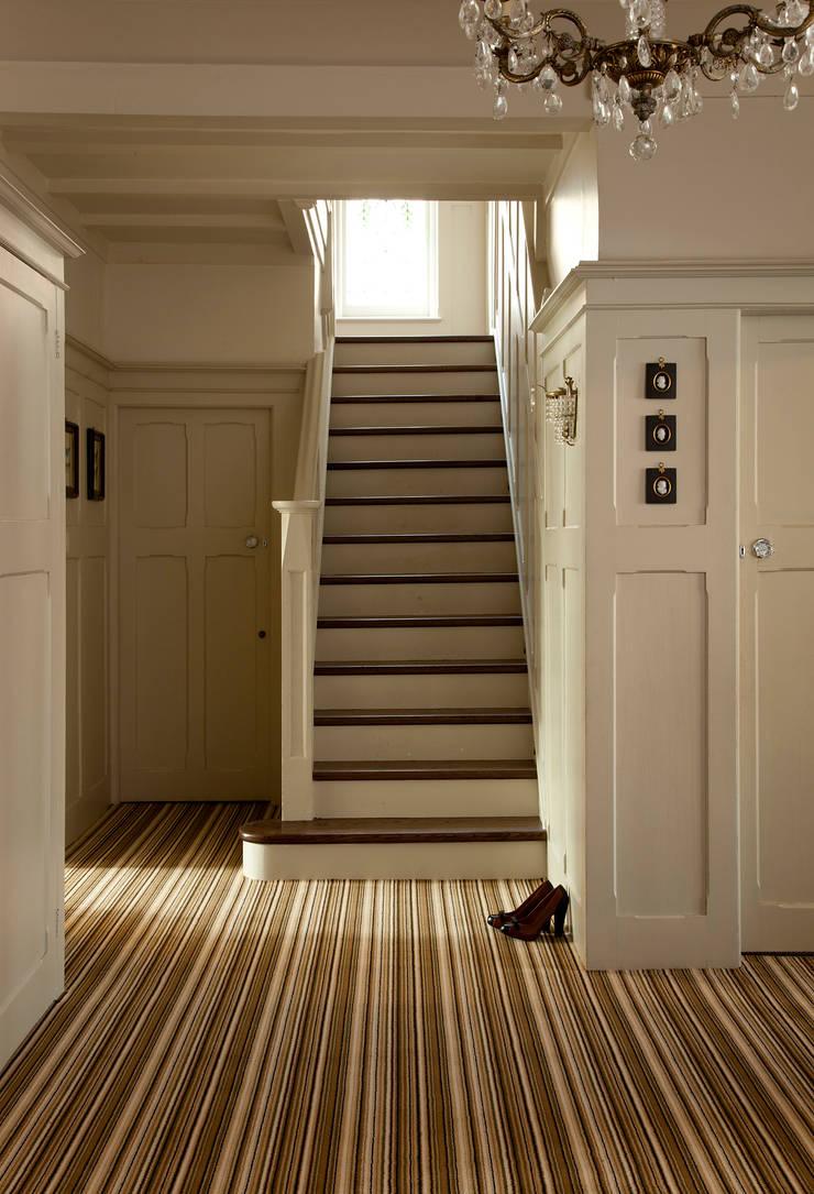 Linear Golden Sand:  Walls & flooring by Crown Floors