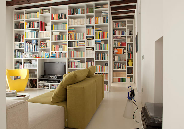 Living room by davide petronici | architettura