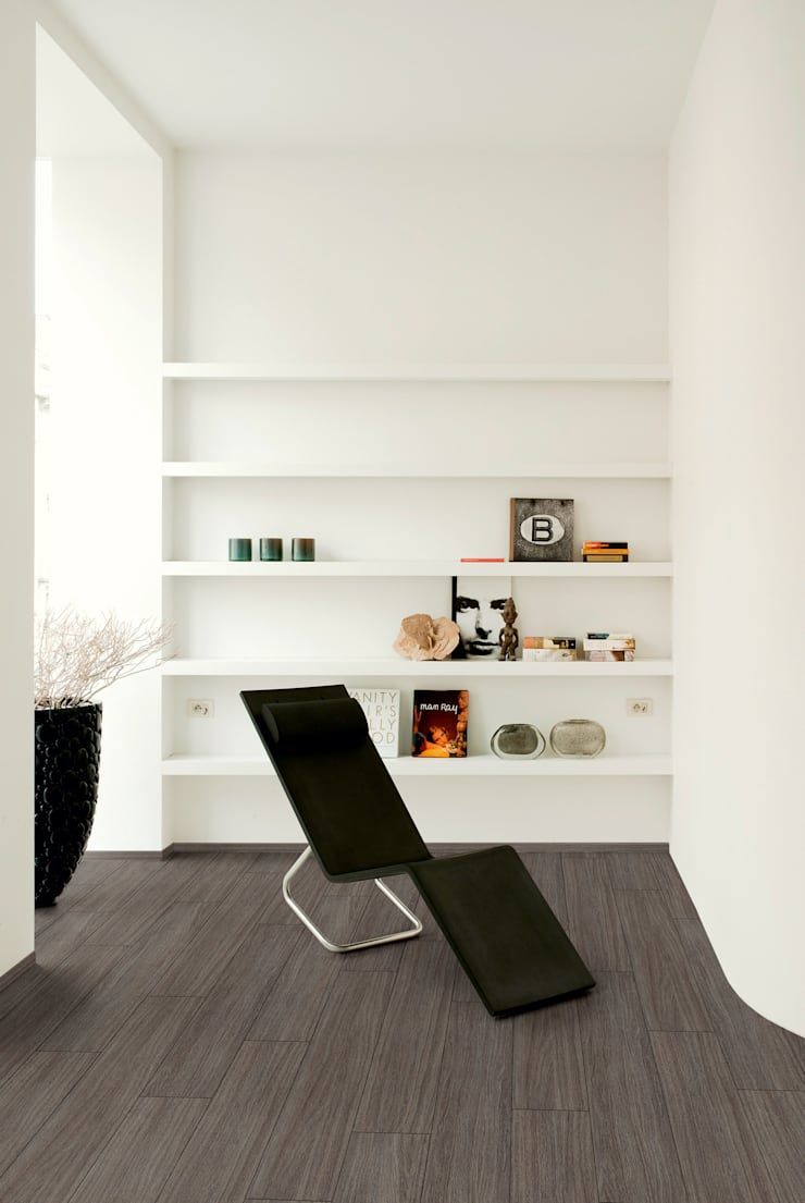 Ceruse Oak Grey Brown:  Walls & flooring by Quick-Step