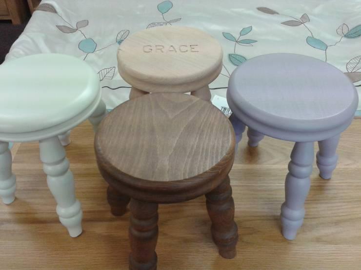 Stools:  Nursery/kid's room by Alpine Furniture