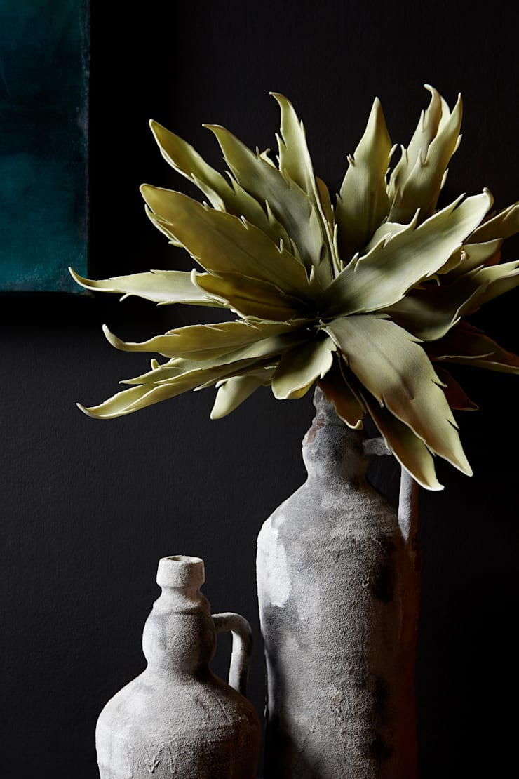 Faux botanicals:  Interior landscaping by Abigail Ahern