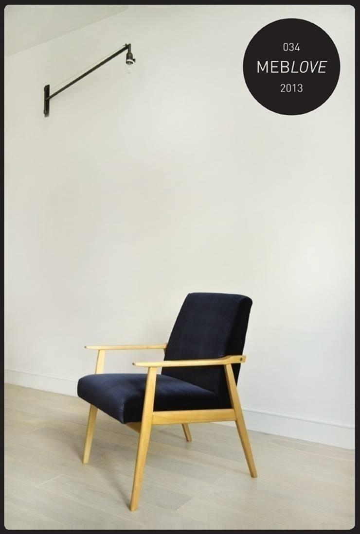 FOTEL / MEBLOVE 034: styl , w kategorii Salon zaprojektowany przez MEBLOVE